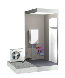 Pompe chaleur air eau dec energies expert nergies for Chauffage pac air air